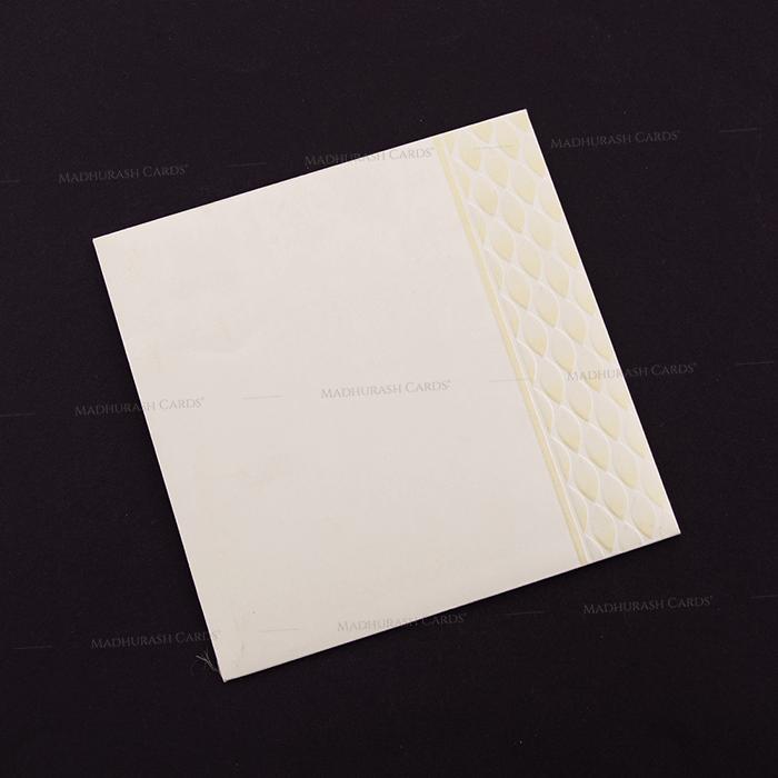 Muslim Wedding Cards - MWC-15219 - 3
