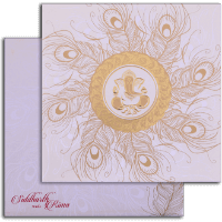 Designer Wedding Cards - DWC-15268