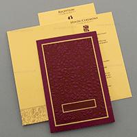 Designer Wedding Cards - DWC-15075