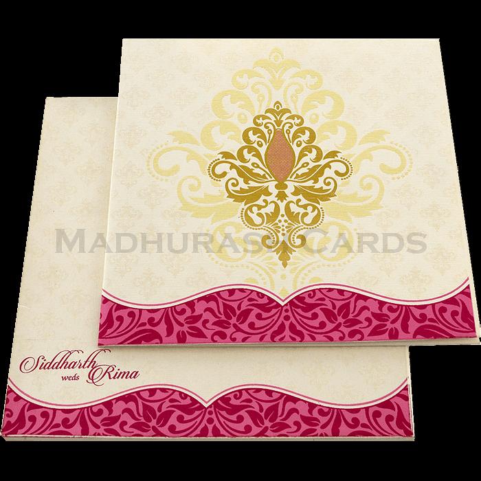 test Designer Wedding Cards - DWC-15152
