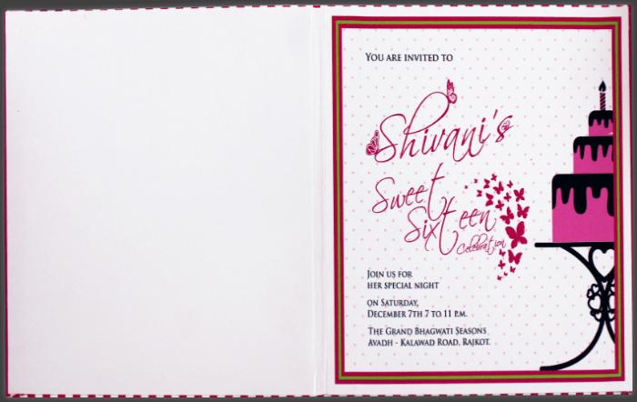 Custom Wedding Cards - CZC-8831 - 4