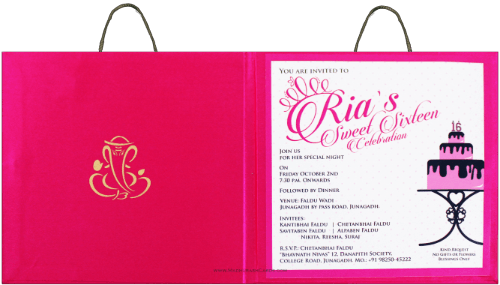 Custom Wedding Cards - CZC-8841 - 3