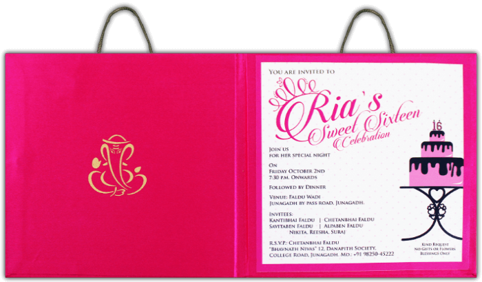 Custom Wedding Cards - CZC-8841 - 4