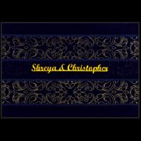 Custom Wedding Cards - CZC-9110