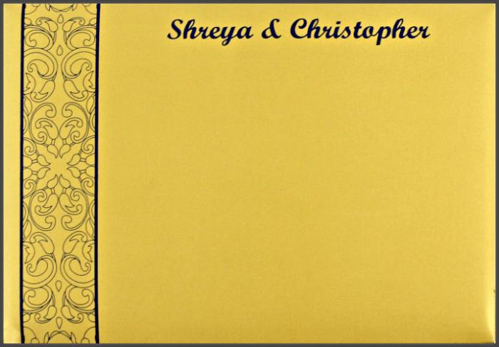 Custom Wedding Cards - CZC-9110 - 3
