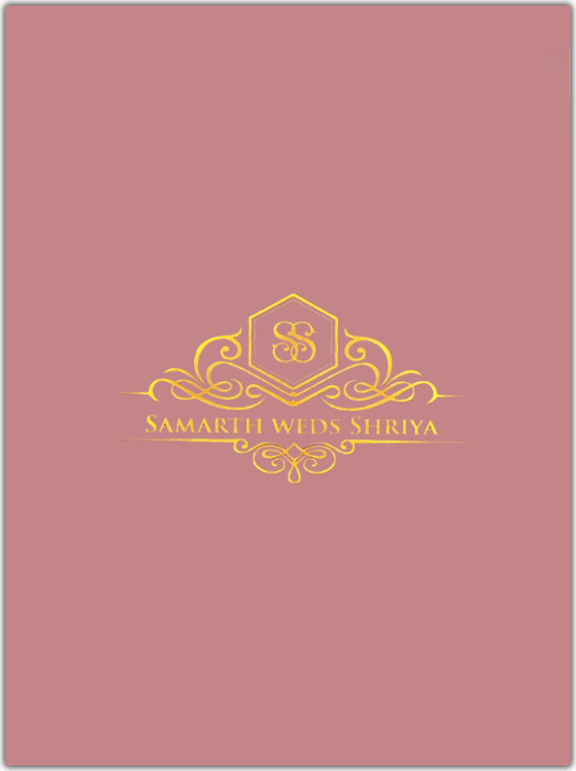 Custom Wedding Cards - CZC-8801LP