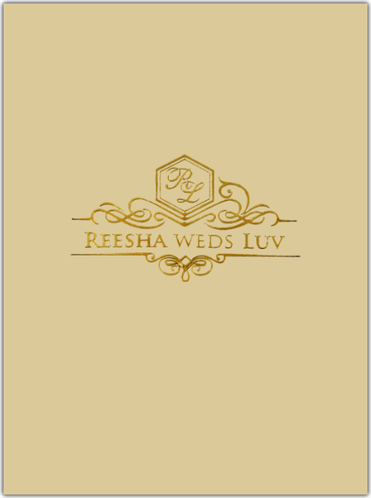 test Custom Wedding Cards - CZC-8801DC
