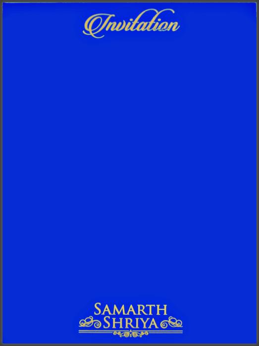 Custom Wedding Cards - CZC-8801B - 3