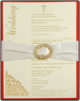 Custom Wedding Cards - CZC-9706R
