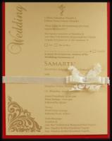 Custom Wedding Cards - CZC-9732R