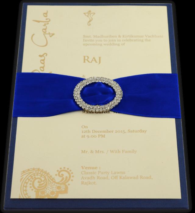 test Custom Wedding Cards - CZC-9709B