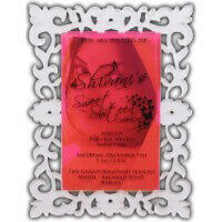 Custom Wedding Cards - CZC-9717
