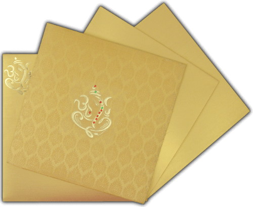 Hindu Wedding Cards - HWC-15114 - 5