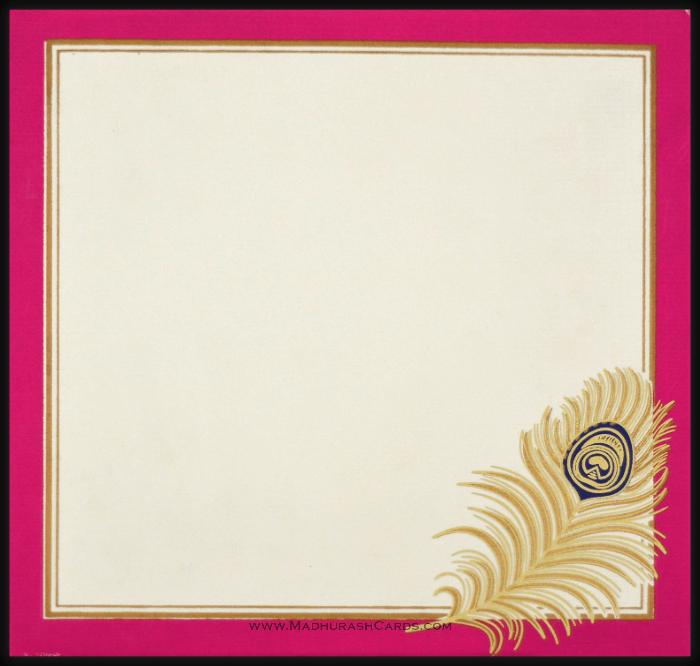 Muslim Wedding Cards - MWC-15160 - 3