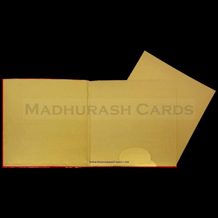Hard Bound Wedding Cards - HBC-15014 - 4