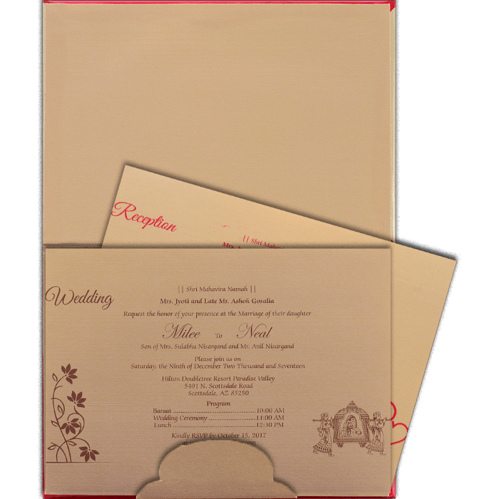 Laser Cut Invitations - LCC-15022 - 3