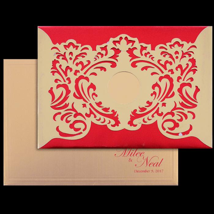 test Hard Bound Wedding Cards - HBC-15022