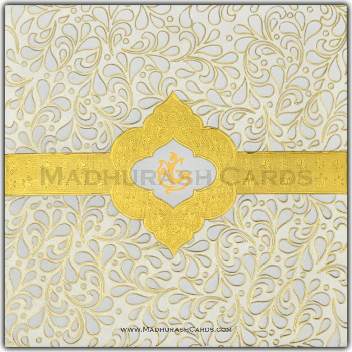 test Hard Bound Wedding Cards - HBC-15076