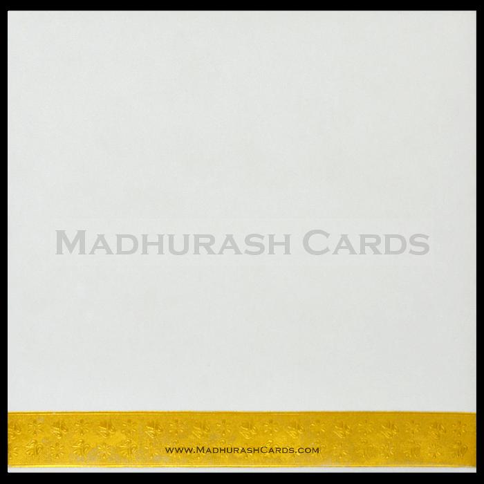 Hard Bound Wedding Cards - HBC-15076 - 3