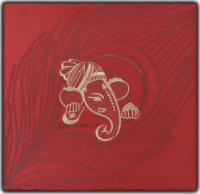 Fabric Wedding Cards - FWI-15027