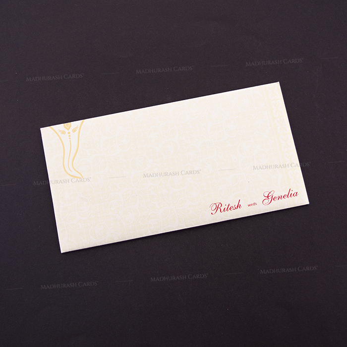 Hindu Wedding Cards - HWC-15218 - 3