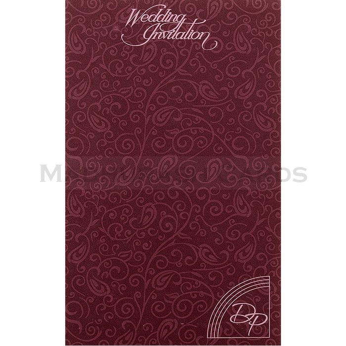 Hindu Wedding Cards - HWC-15234 - 3