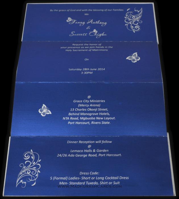 Muslim Wedding Invitations - MWC-15244 - 3