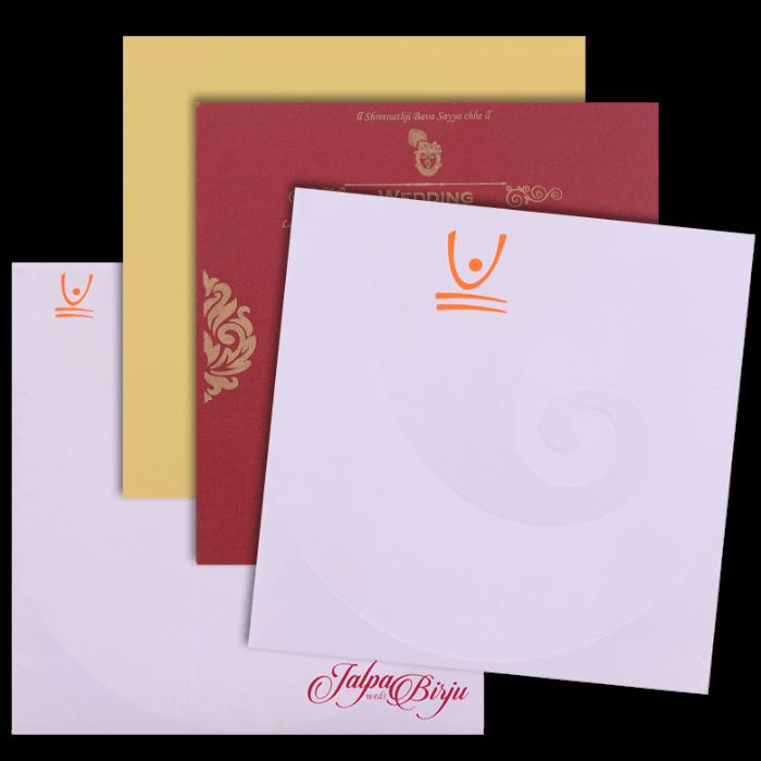 Hindu Wedding Cards - HWC-15270 - 5