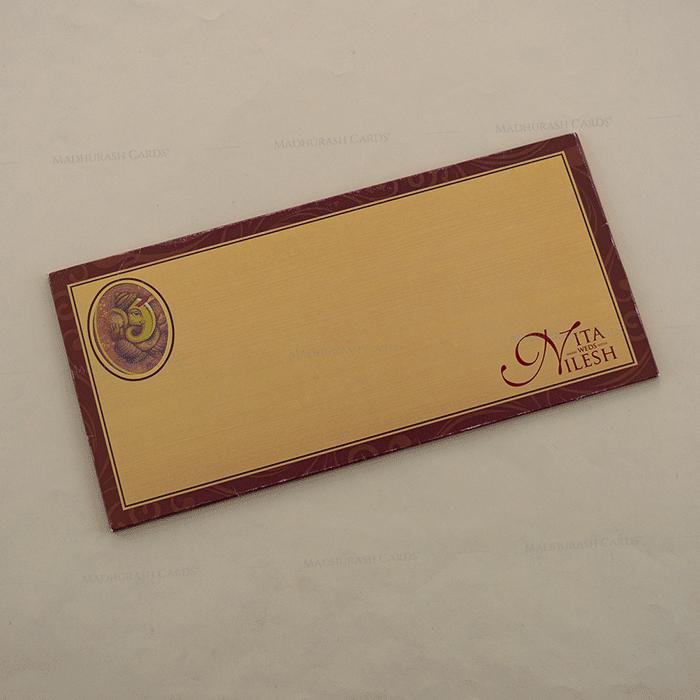 Hindu Wedding Cards - HWC-15275 - 3