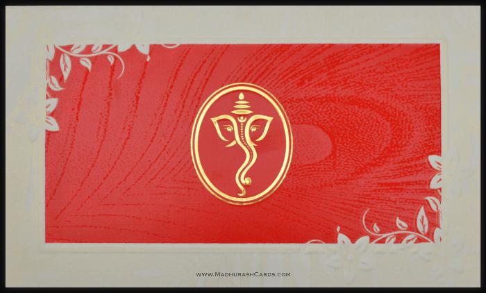 Hindu Wedding Cards - HWC-15297