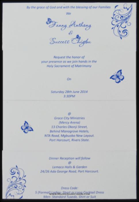 Muslim Wedding Invitations - MWC-15239 - 3