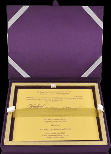 Luxury Invitations - LWC-107V - 3