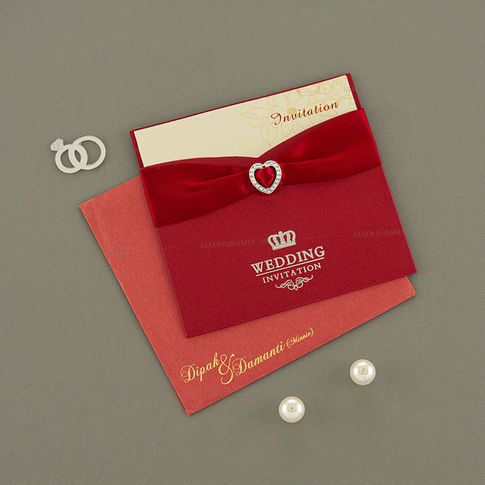 Hindu Wedding Cards - HWC-15096 - 2