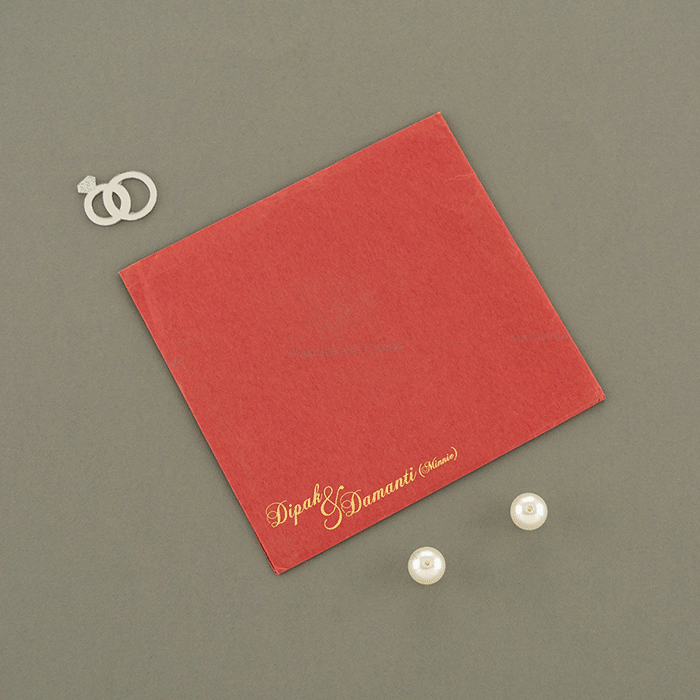 Hindu Wedding Cards - HWC-15096 - 3