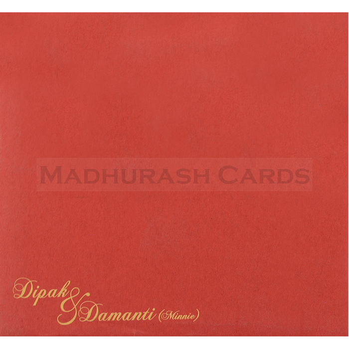 Hindu Wedding Cards - HWC-15096 - 5