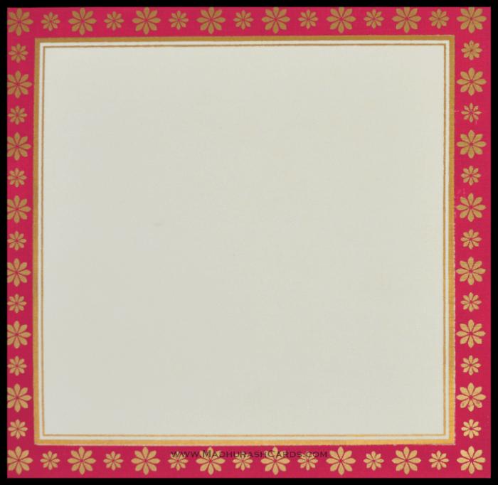 Hindu Wedding Cards - HWC-15157 - 3