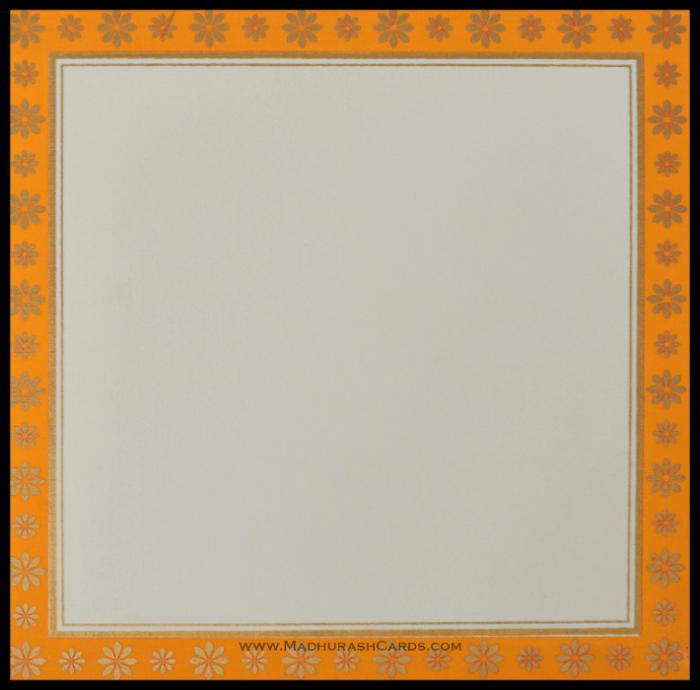 Hindu Wedding Cards - HWC-15157 - 4