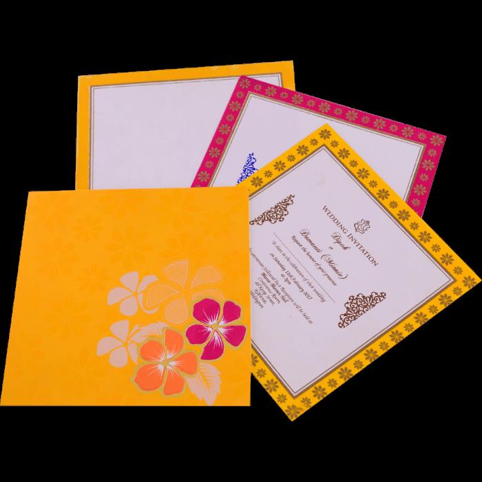 Hindu Wedding Invitations - HWC-15157 - 5