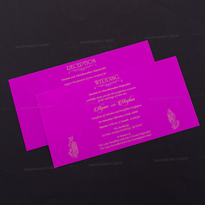 Hindu Wedding Cards - HWC-15167 - 4