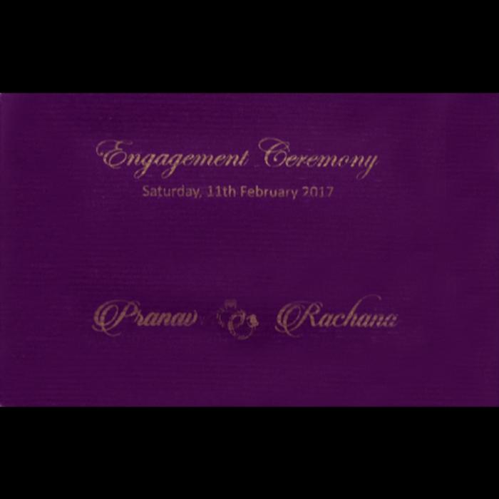 Hindu Wedding Cards - HWC-15366 - 4