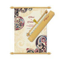 Scroll Wedding Invitations - SC-6064