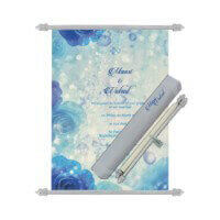 Scroll Wedding Invitations - SC-6067