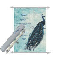 Scroll Wedding Invitations - SC-6069
