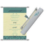 Scroll Wedding Invitations - SC-6071
