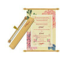 Scroll Wedding Invitations - SC-6075