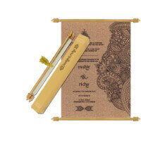 Scroll Wedding Invitations - SC-6079