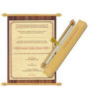 Scroll Wedding Invitations - SC-6080