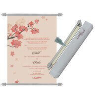 Scroll Wedding Invitations - SC-6082