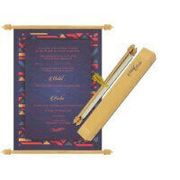 Scroll Wedding Invitations - SC-6083