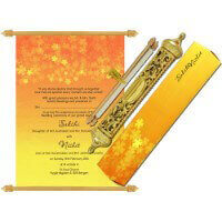 Royal Scroll Invitations - SC-6030